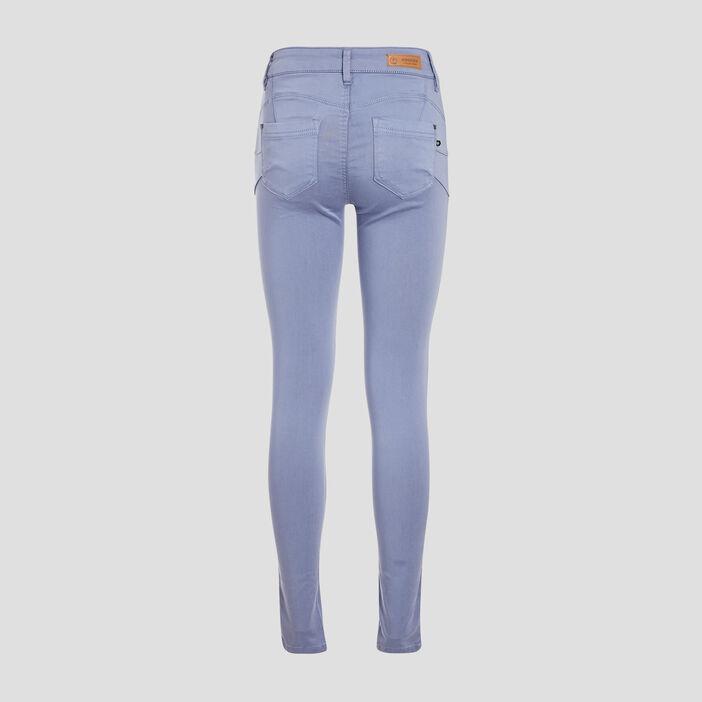 Pantalon Audrey - skinny push up bleu gris femme