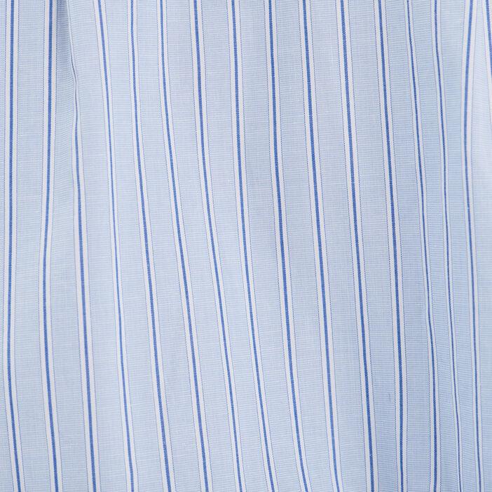 Blouse manches longues bleu pastel femme
