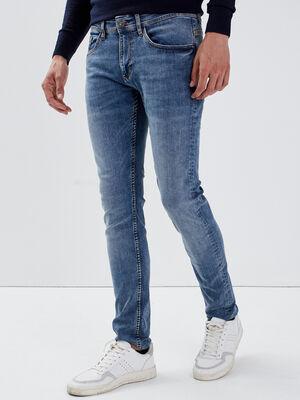 Jeans slim denim used homme