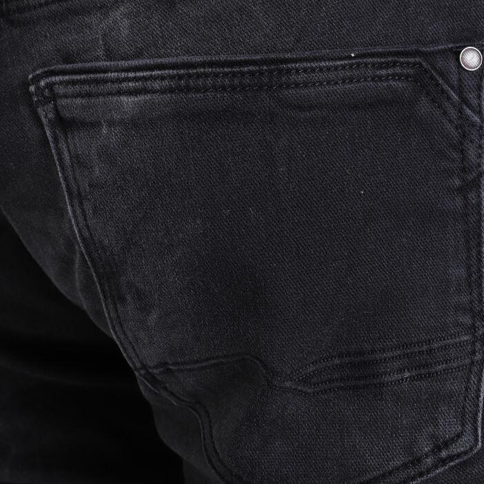 Jeans slim ultra stretch denim noir homme
