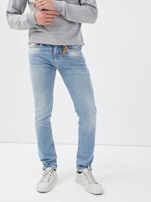 Jeans slim eco responsable denim dirty homme