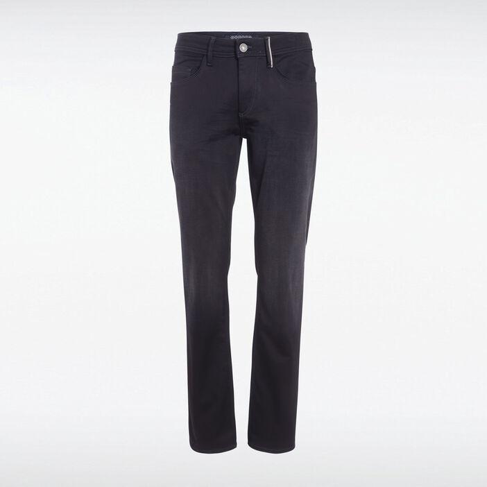 Jeans regular ultra stretch denim noir homme