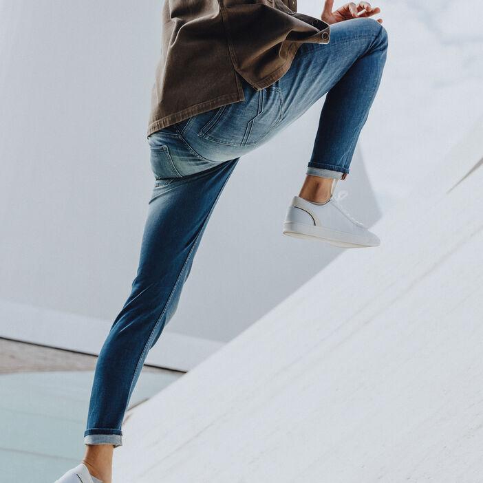 Hyper Stretch jeans slim denim dirty homme