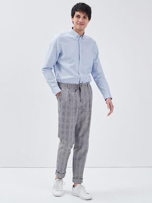 Pantalon chino eco responsable ecru homme