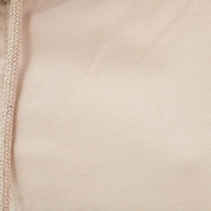 Pantalon chino bas élastiqué beige homme