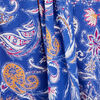 Robe longue evasee a bretelles bleu lavande femme