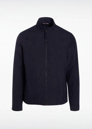 Blouson Instinct droit zippe bleu fonce homme
