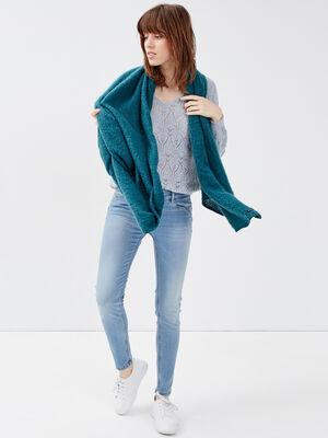 Jeans slim push up 78eme denim used femme
