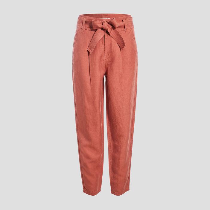 Pantalon éco-responsable vieux rose femme