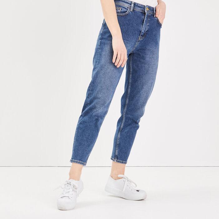 Jeans Gwen - mom denim stone femme