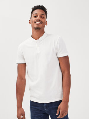 Polo eco responsable ecru homme