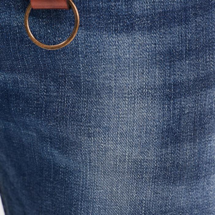 Jeans slim détails destroy denim dirty homme