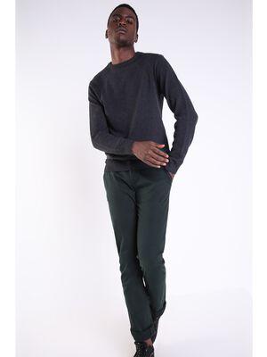 pantalon chino regular homme instinct vert fonce