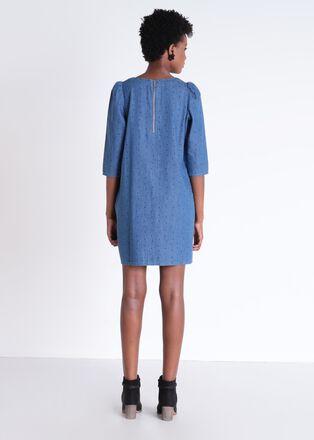 Robe Instinct en jean denim used femme
