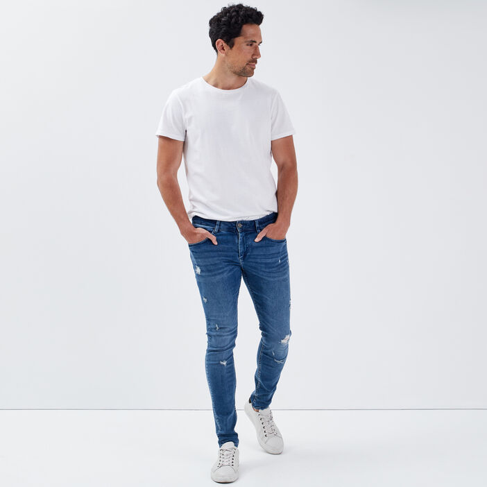 Jeans skinny éco-responsable denim used homme