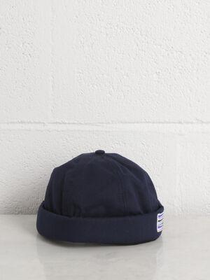 Chapeau bleu homme