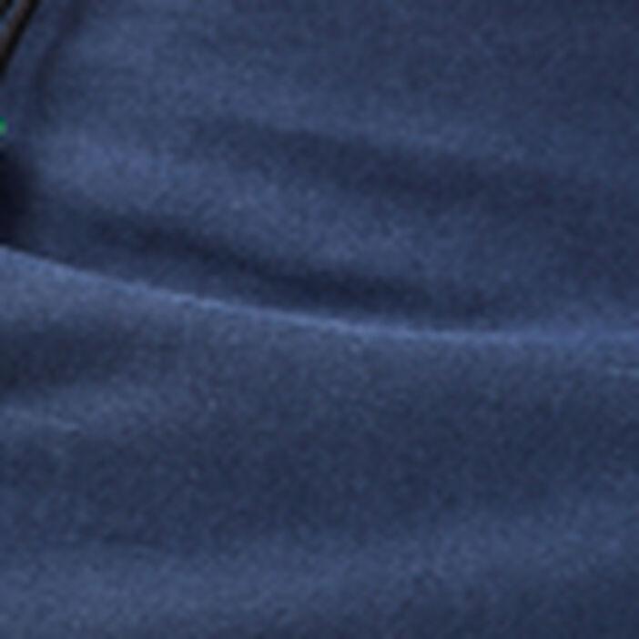 Short droit éco-responsable bleu foncé homme