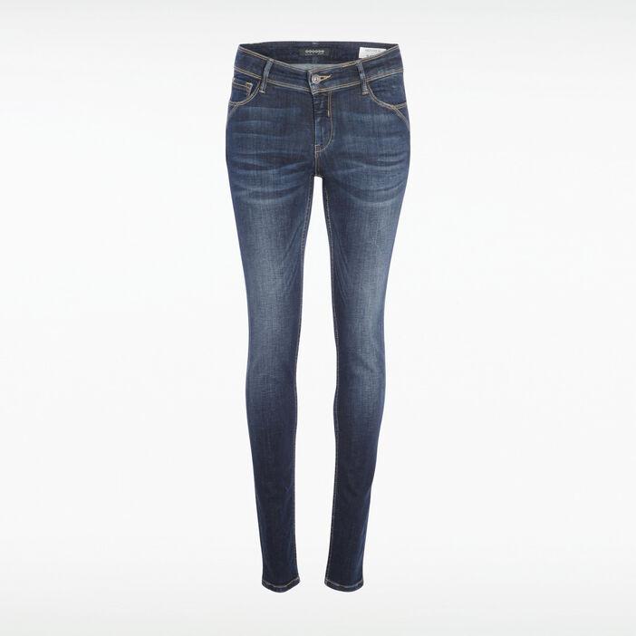 Jeans skinny push up denim brut femme
