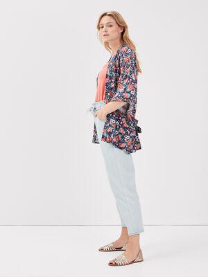 Chemise kimono manches 34 multicolore femme