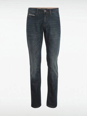 Jeans regular poches fantaisie denim dirty homme