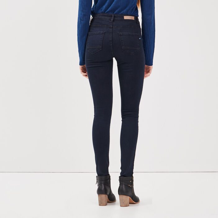 Jeans Lou - jegging en coton bio denim brut femme