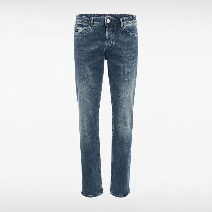 Jeans regular détail poche denim dirty homme