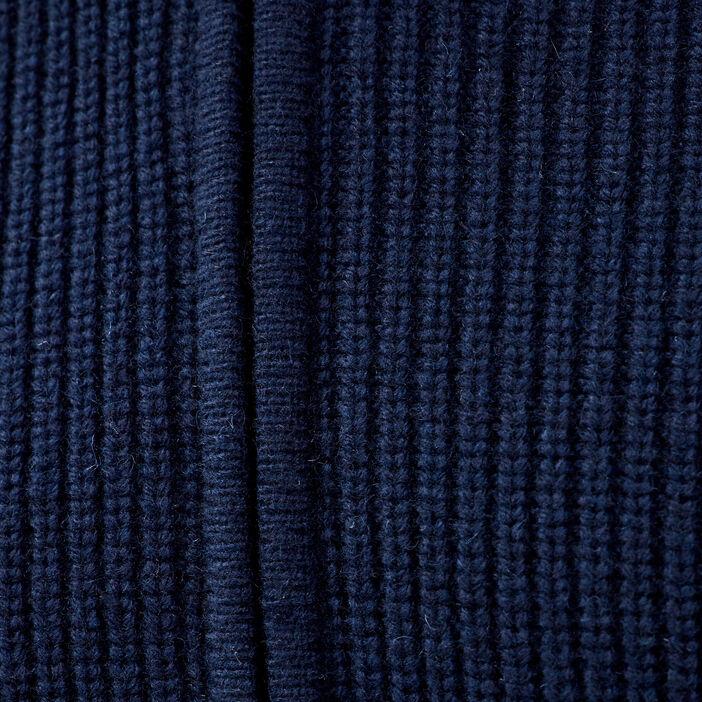 Gilet manches longues bleu marine homme