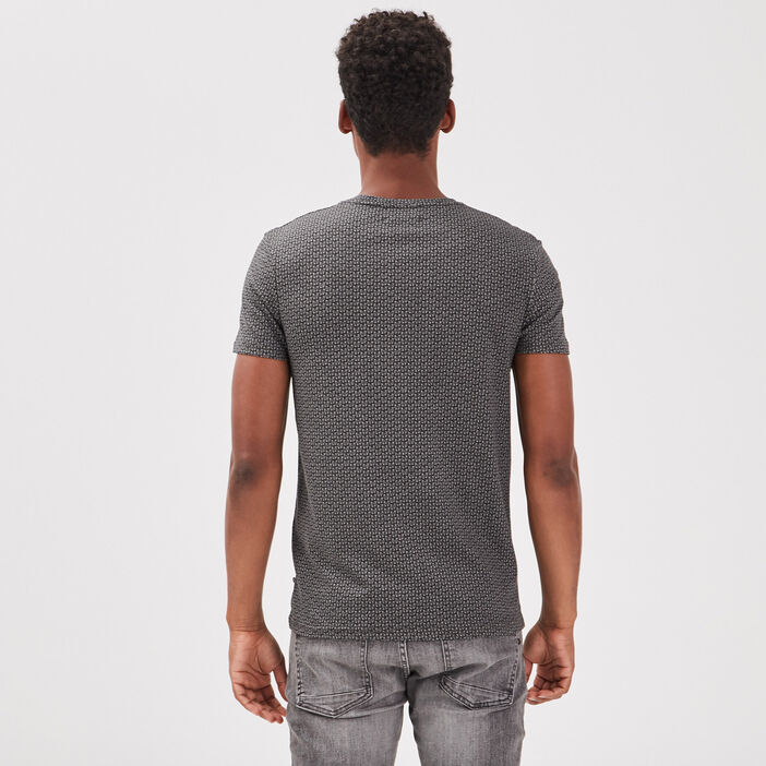 T-shirt éco-responsable gris foncé homme