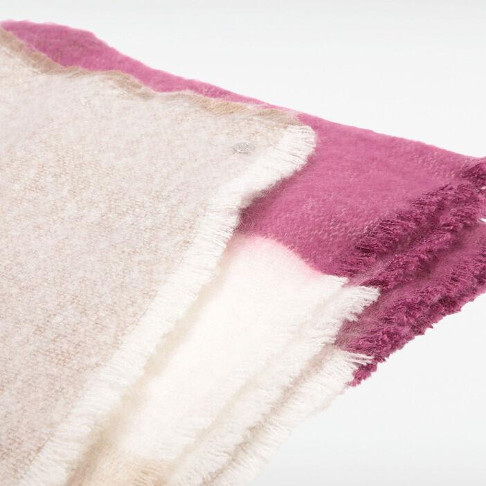 Écharpe violet femme