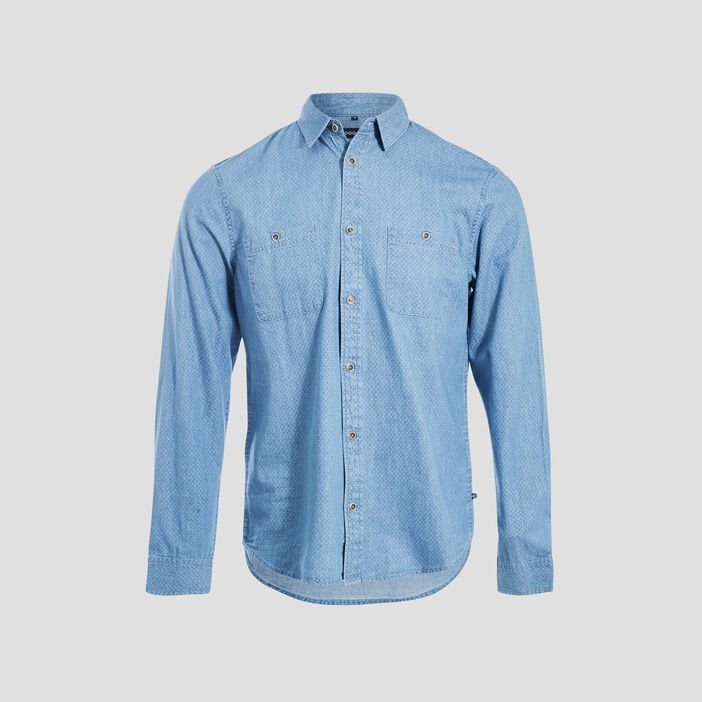 Chemise manches longues denim used homme
