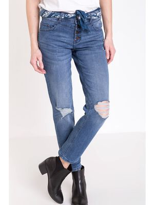 jeans regular femme instinct denim stone