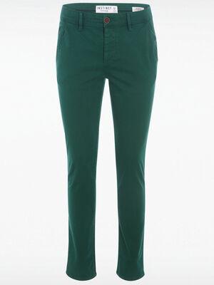Pantalon slim Instinct vert fonce homme