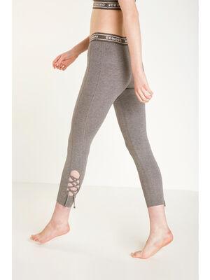 Legging lacage Instinct gris fonce femme
