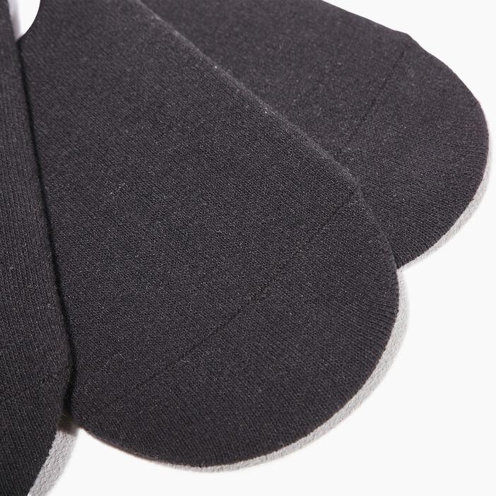 Lot 3 paires chaussettes noir homme