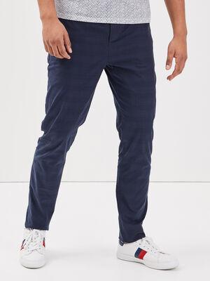 Pantalon chino bleu marine homme