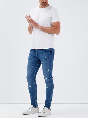 Jeans skinny eco responsable denim used homme