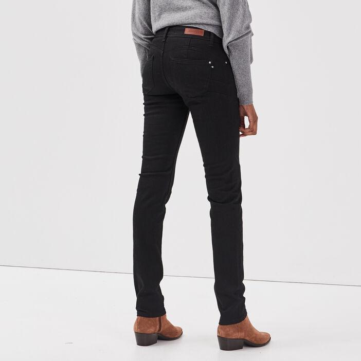 Jeans Grace - slim push up denim noir femme