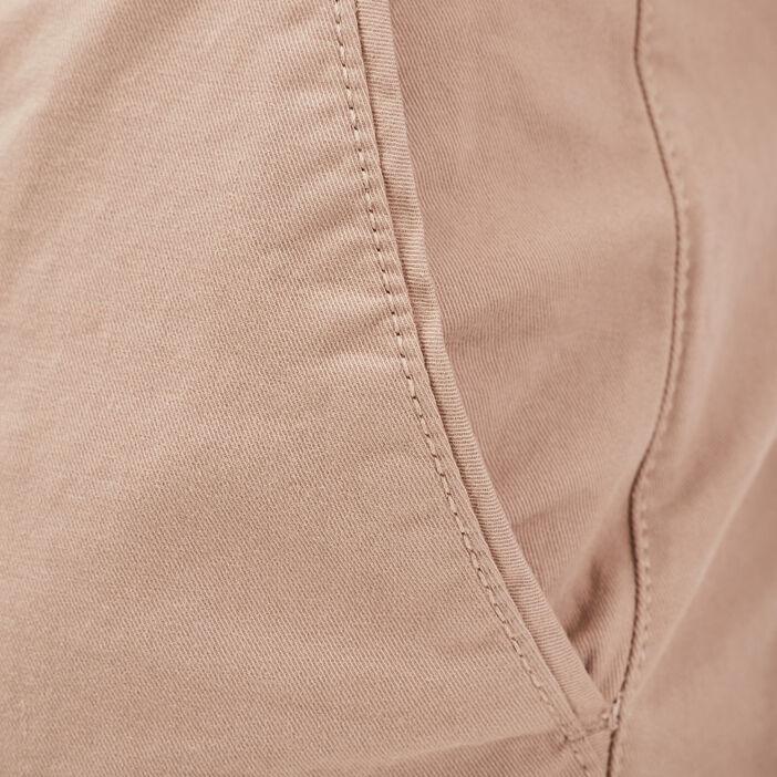 Pantalon straigth Instinct chino marron homme
