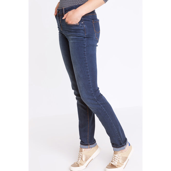 best selling check out shoes for cheap Jeans slim taille haute denim brut femme | Vib's