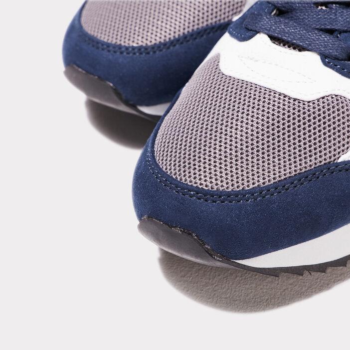 Sneakers recyclées gris foncé homme