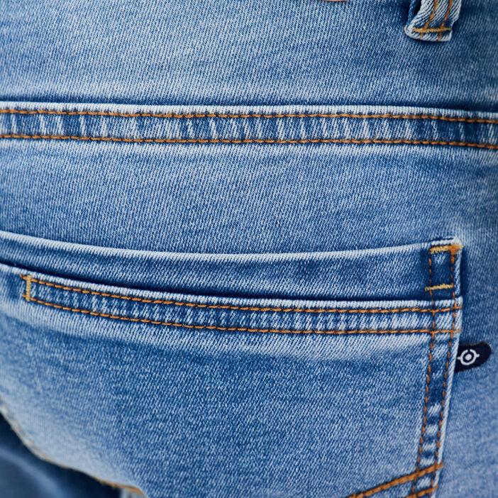 Jeans slim crinkle Instinct denim used homme