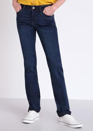 Jeans Instinct regular denim brut femme