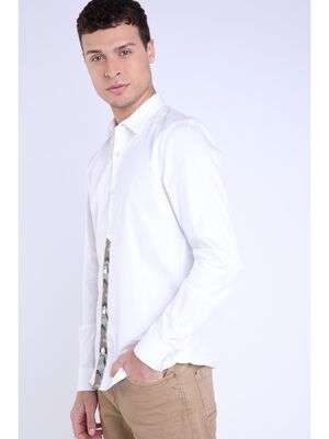 Chemise blanc homme