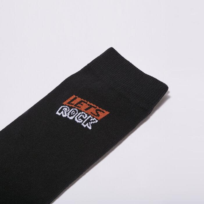 Chaussettes éco-responsable noir homme
