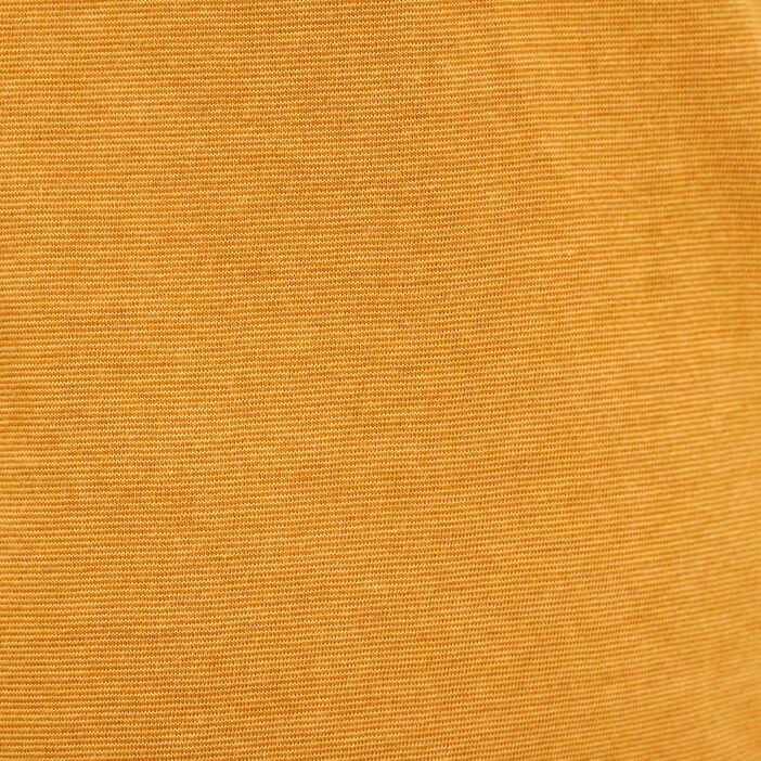 T-shirt manches courtes jaune moutarde homme