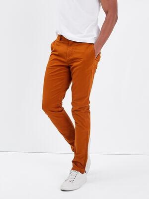 Pantalon eco responsable camel homme