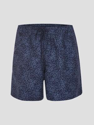 Short de bain eco responsable bleu marine homme