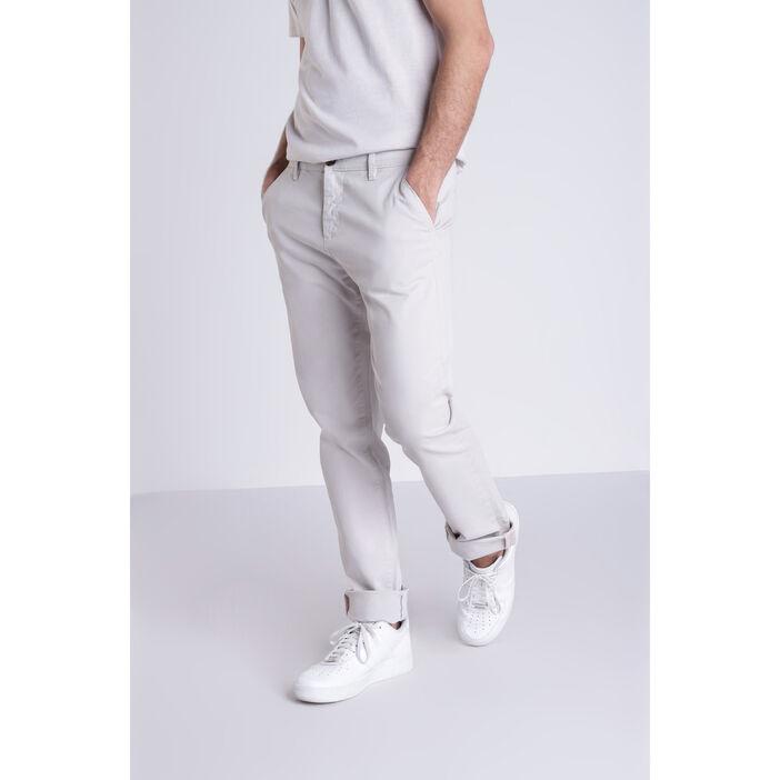 prix le plus bas 8c31e 6f11d Pantalon chino gris clair homme | Vib's
