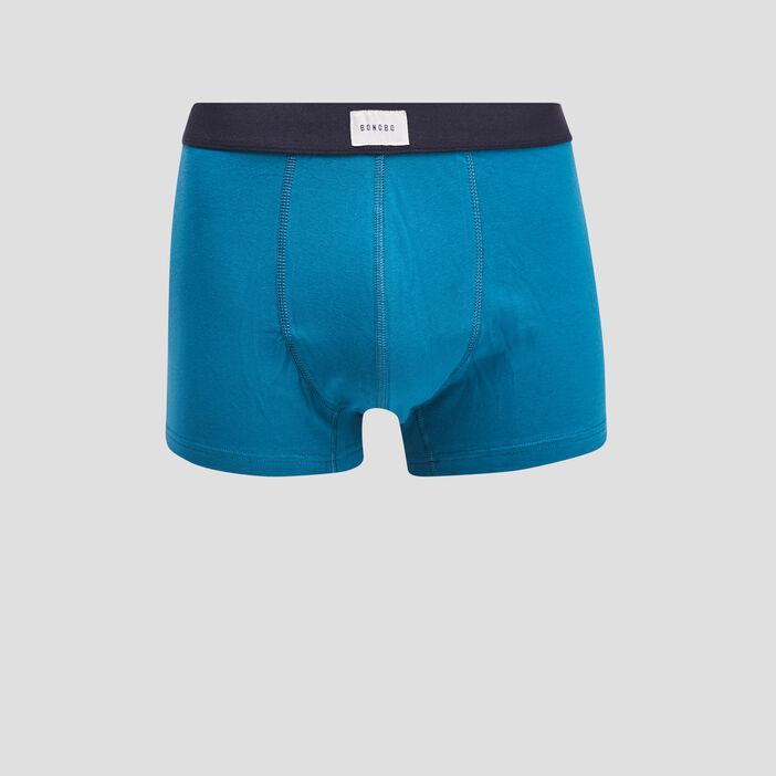 Lot 2 boxers bleu canard homme