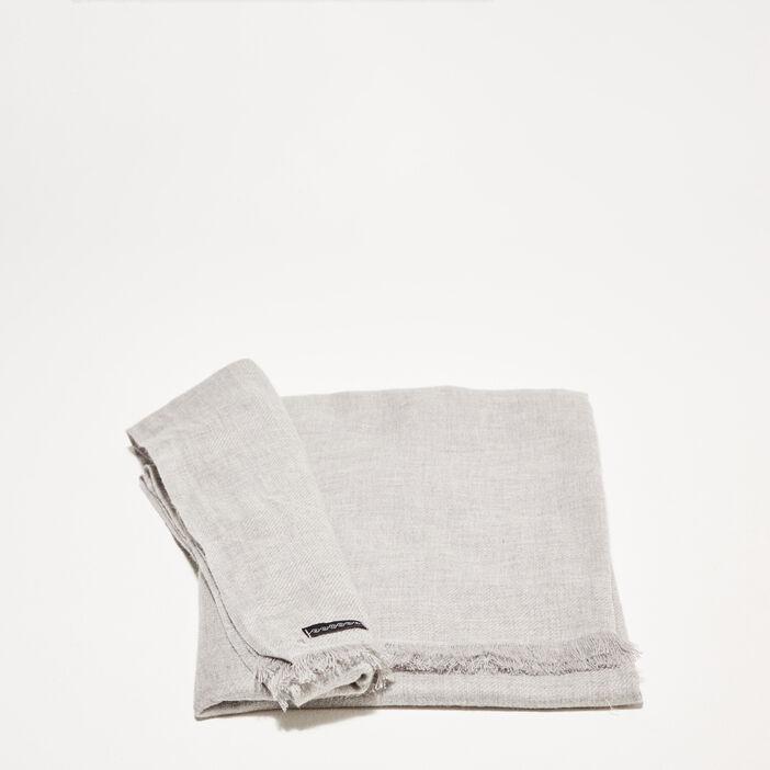 Foulard gris foncé homme